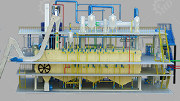 edible crude oil refinery/refining/processing machine price